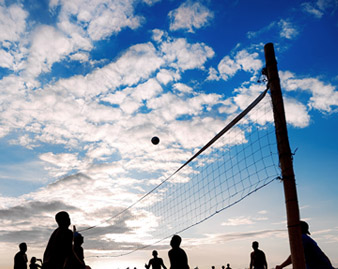 Weekly Volleyball Games for PrairieStar Residents
