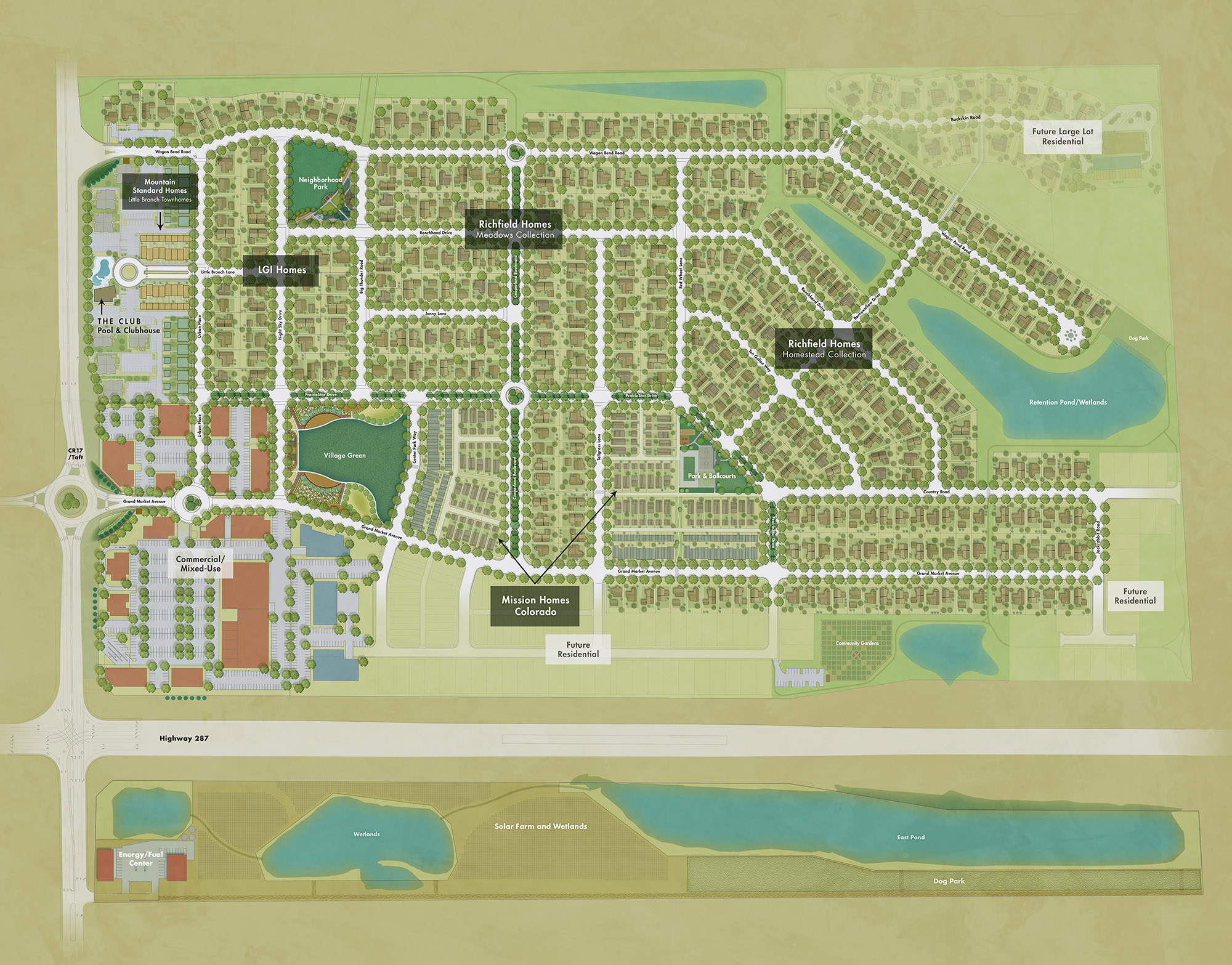 PrairieStar Colorado Site Plan